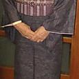 十日町結城紬に南風原花織の名古屋帯